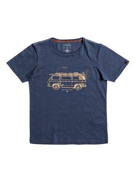 Happy Van Slub - T-Shirt for Boys 8-16  EQBZT03587