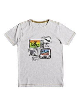 Heather Super TV - T-Shirt for Boys 8-16  EQBZT03691