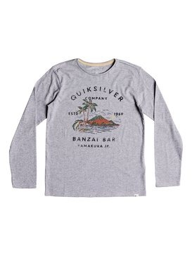 Banzai Bar - Long Sleeve T-Shirt for Boys 8-16  EQBZT03806