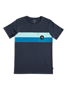 Season Stripe - Pocket T-Shirt for Boys 8-16  EQBZT03918