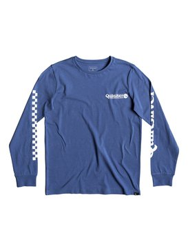 Check It - Long Sleeve T-Shirt for Boys 8-16  EQBZT03935
