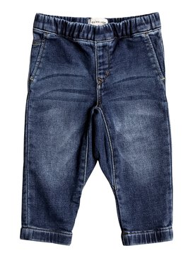 Fonic Hash Blue - Slim Fit Denim Joggers for Baby Boys  EQIDP03010