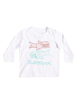 Classic Double Fish - Long Sleeve T-Shirt  EQIZT03027