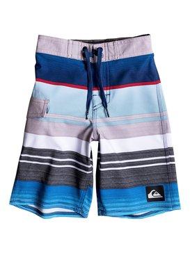 "Everyday Stripe Vee 14.5"" - Board Shorts  EQKBS03089"