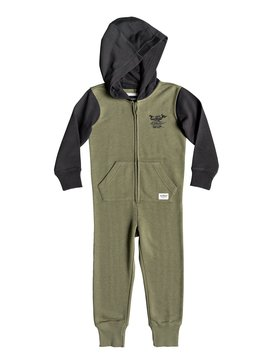 Minoo - Hooded Zip-Up Onesie for Boys 2-7  EQKFT03257