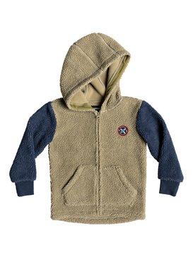 Tori Gates - Zip-Up Sherpa Hoodie for Boys 2-7  EQKFT03262