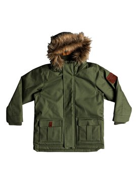 Tottori - Water-Resistant Hooded Parka for Boys 2-7  EQKJK03087
