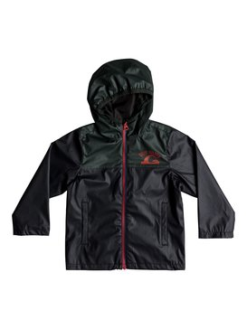 Hikiomori - Hooded Rain Jacket for Boys 2-7  EQKJK03088