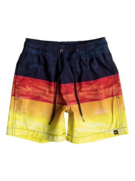 "Word Waves 12"" - Swim Shorts  EQKJV03024"
