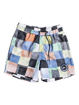 "Resin Check 12"" - Swim Shorts for Boys 2-7  EQKJV03046"