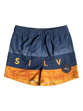 "Word Block 11"" - Swim Shorts for Boys 2-7  EQKJV03066"