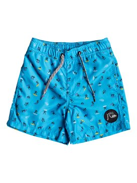 "Wardog 12"" - Swim Shorts for Boys 2-7  EQKJV03070"