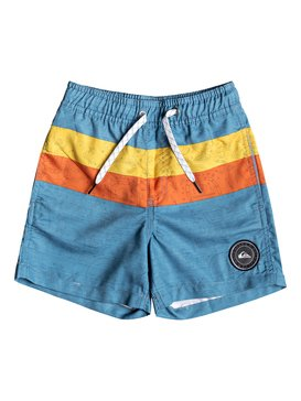 "Mystery Bus 12"" - Swim Shorts for Boys 2-7  EQKJV03072"