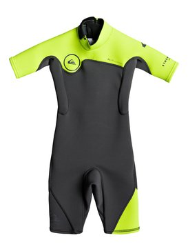 2/2mm Syncro Series - Short Sleeve Back Zip FLT Springsuit  EQKW503000