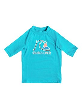 Bubble - Short Sleeve Rash Vest  EQKWR03000