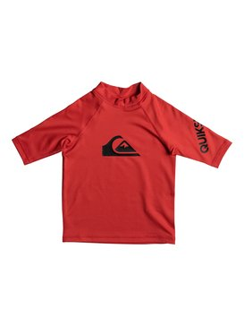All Time - Short Sleeve UPF 50 Rash Vest  EQKWR03019