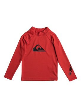 All Time - Long Sleeve UPF 50 Rash Vest  EQKWR03020