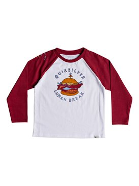 Quik Lunch - Long Sleeve T-Shirt  EQKZT03234