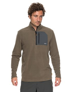 Waterman Boat Trip - Technical 1/4 Zip Fleece for Men  EQMFT03014