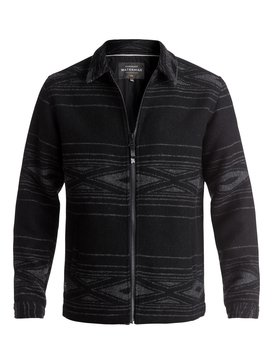 Waterman Salina Cruz - Zip-Up Wool Jacket  EQMJK03002