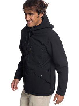 Waterman Night Tides - Waterproof Sherpa Lined Hooded Jacket for Men  EQMJK03013