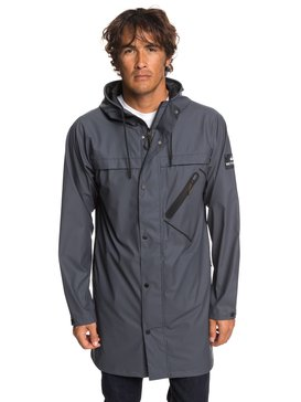 Waterman Techtonic - Water-Resistant Hooded Raincoat for Men  EQMJK03020