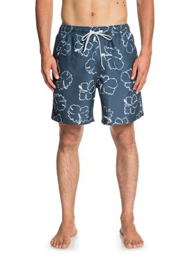 "Waterman Seasick Hilo 18"" - Swim Shorts for Men  EQMJV03049"