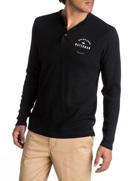 Waterman Thermal Creeks - Thermal Long Sleeve Henley T-Shirt  EQMKT03011