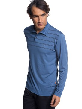 Waterman River Explorer - Long Sleeve UPF 30 Polo Shirt  EQMKT03042