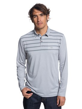 Waterman River Explorer - Long Sleeve UPF 30 Polo Shirt for Men  EQMKT03042
