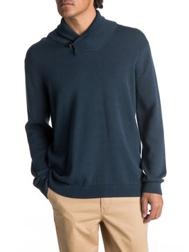 Waterman Warm Winds - Shawl-Neck Jumper for Men  EQMSW03004