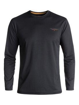 Waterman Gut Check - Amphibian Long Sleeve UPF 40 Surf T-Shirt for Men  EQMWR03019