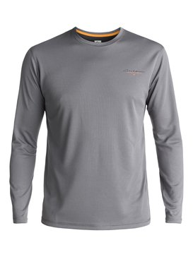 Waterman Gut Check - Amphibian Long Sleeve UPF 40 Surf T-Shirt for Men  EQMWR03019