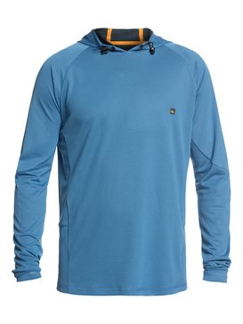 Waterman New Hooked - Long Sleeve UPF 50 Hooded Rash Vest  EQMWR03036