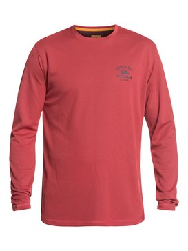 Waterman Gut Check - Amphibian Long Sleeve UPF 40 Rash Vest for Men  EQMWR03041