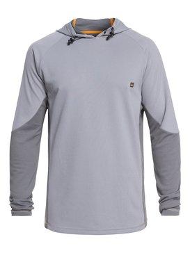 Waterman Hooked - Hooded Long Sleeve UPF 30 Rash Vest for Men  EQMWR03052
