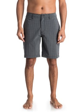 Waterman Vagabond Plaid - Amphibian Board Shorts  EQMWS03051