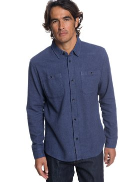 Waterman Irish Rocks Flannel - Long Sleeve Shirt  EQMWT03177