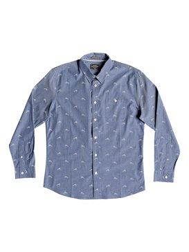 Waterman Mahi Hami - Long Sleeve Shirt for Men  EQMWT03182