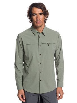 Waterman Salt Water Explorer - Technical UPF 30 Long Sleeve Shirt  EQMWT03189
