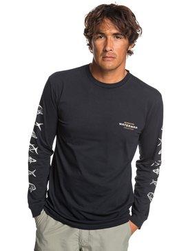 Waterman Aztec Fish - Long Sleeve T-Shirt for Men  EQMZT03153