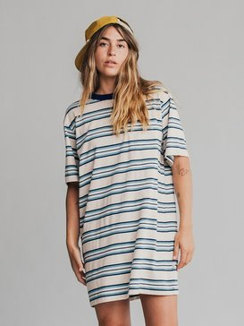 Quiksilver Womens - Short Sleeve T-Shirt Dress  EQWKD03000