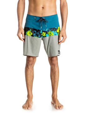 "Panel Blocked Vee 19"" - Board Shorts  EQYBS03632"