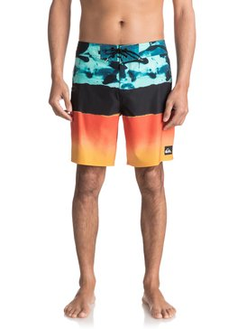 "Blocked Resin Camo 18"" - Board Shorts for Men  EQYBS03741"