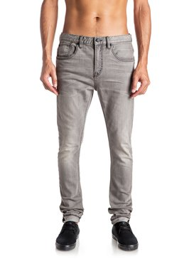 Low Bridge Used Grey - Skinny Jeans  EQYDP03309