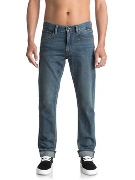 Revolver Medium Blue - Straight Fit Jeans  EQYDP03345