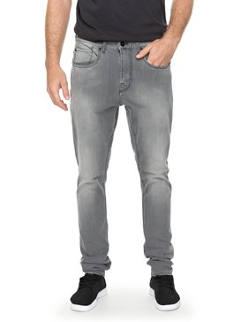 Low Bridge Grey - Skinny Fit Jeans for Men  EQYDP03354
