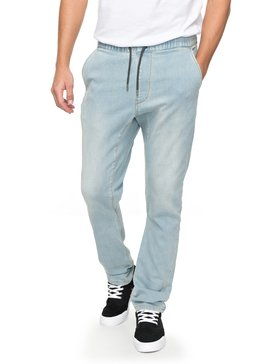 Fonic Bleached - Denim Joggers for Men  EQYDP03361