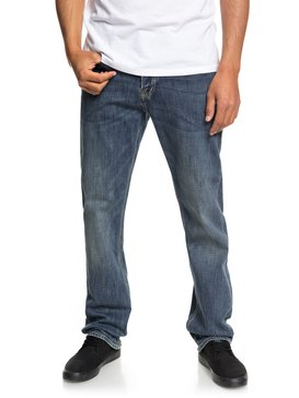 Sequel Medium Blue - Regular Fit Stretch Jeans for Men  EQYDP03373