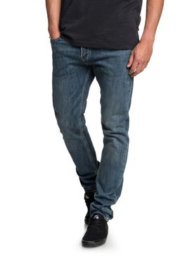 Distorsion Medium Blue - Slim Fit Jeans  EQYDP03374